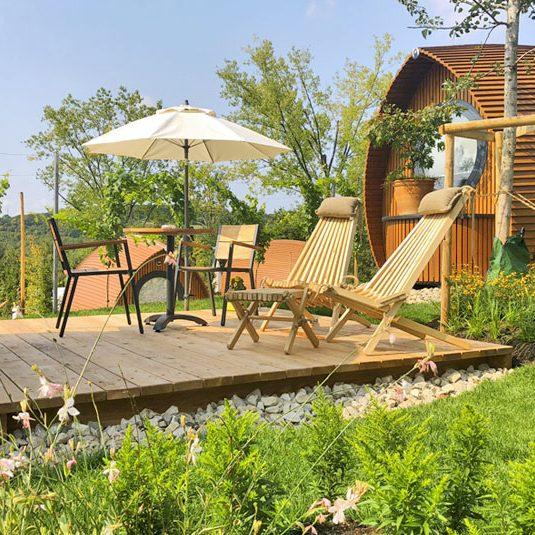 Glamping Resort Biosphäre Bliesgau, Sonnengarten
